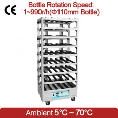 Roller Culture Apparatus for Monolayer and Suspension Cell Cultures